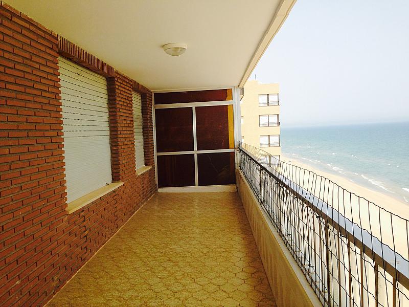 Terraza - Apartamento en alquiler en calle Norte, Mareny Blau - 192158201