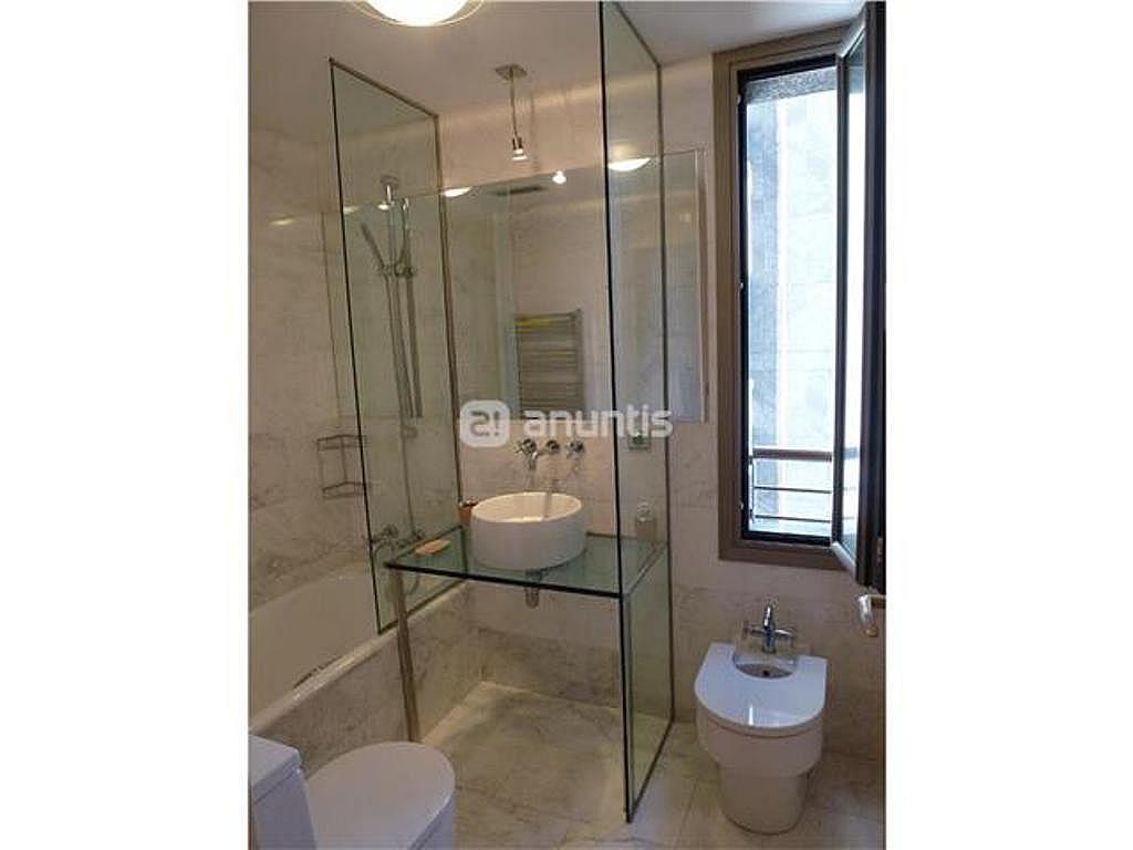 Baño - Apartamento en alquiler de temporada en calle Herrerieta, Getaria - 331622791