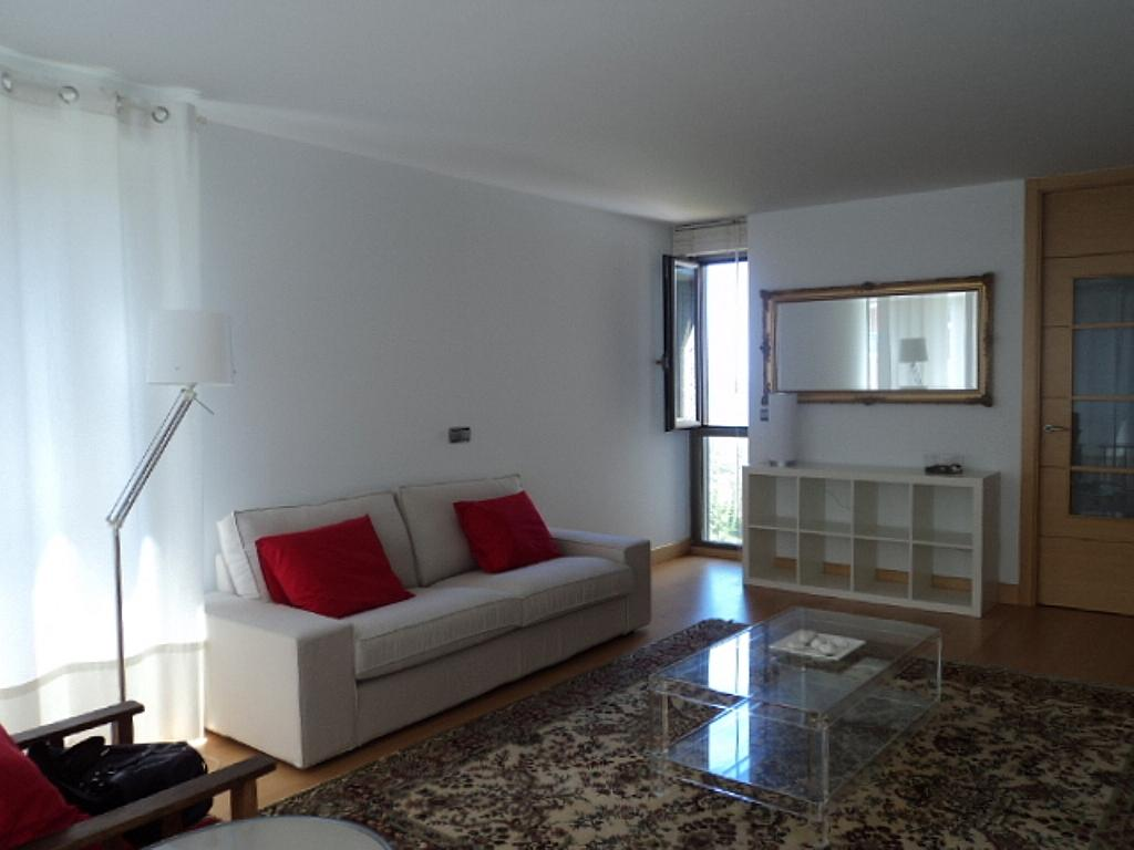 Salón - Apartamento en alquiler de temporada en calle Herrerieta, Getaria - 331622800