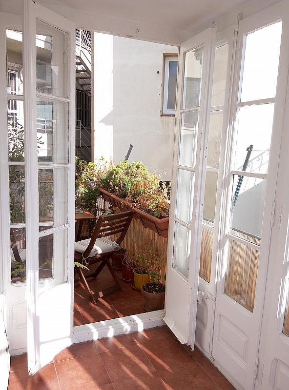 Terraza - Piso en alquiler en calle Jonqueres, Born-Santa Caterina-Sant Pere-La Ribera en Barcelona - 347927923