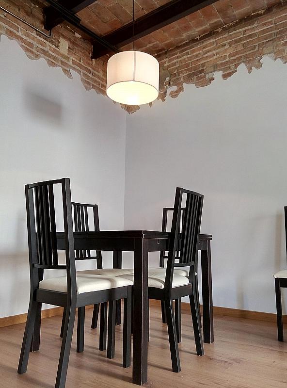 Comedor - Piso en alquiler en calle Jonqueres, Born-Santa Caterina-Sant Pere-La Ribera en Barcelona - 347929580