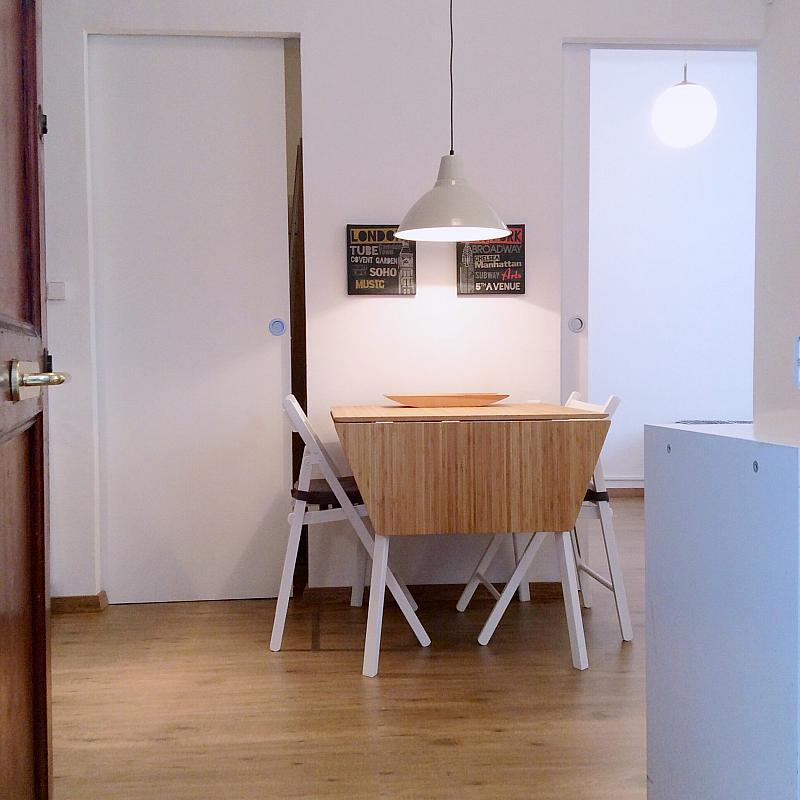 Comedor - Apartamento en alquiler en calle Bou de Sant Pere, Born-Santa Caterina-Sant Pere-La Ribera en Barcelona - 139350451