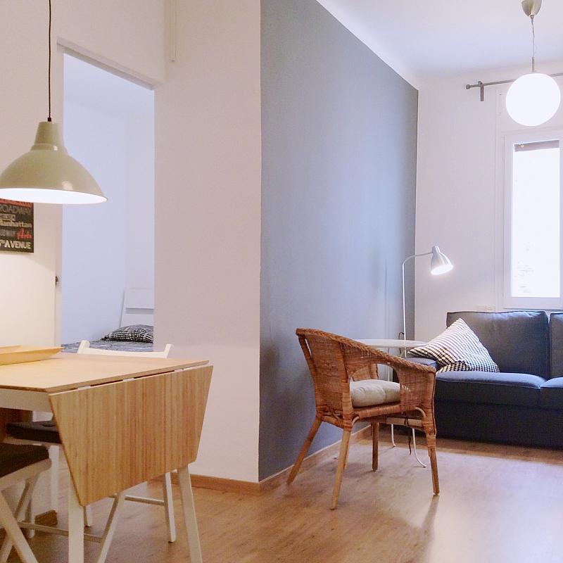 Salón - Apartamento en alquiler en calle Bou de Sant Pere, Born-Santa Caterina-Sant Pere-La Ribera en Barcelona - 139350624