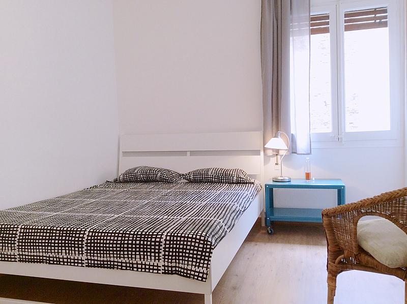 Dormitorio - Apartamento en alquiler en calle Bou de Sant Pere, Born-Santa Caterina-Sant Pere-La Ribera en Barcelona - 139350744