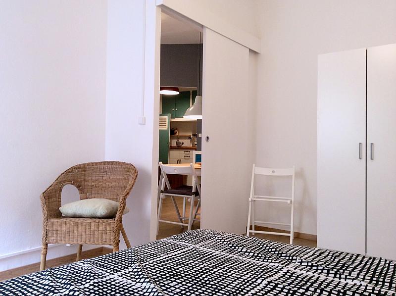 Dormitorio - Apartamento en alquiler en calle Bou de Sant Pere, Born-Santa Caterina-Sant Pere-La Ribera en Barcelona - 139350871