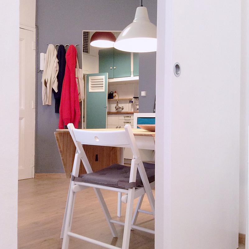 Comedor - Apartamento en alquiler en calle Bou de Sant Pere, Born-Santa Caterina-Sant Pere-La Ribera en Barcelona - 139351336