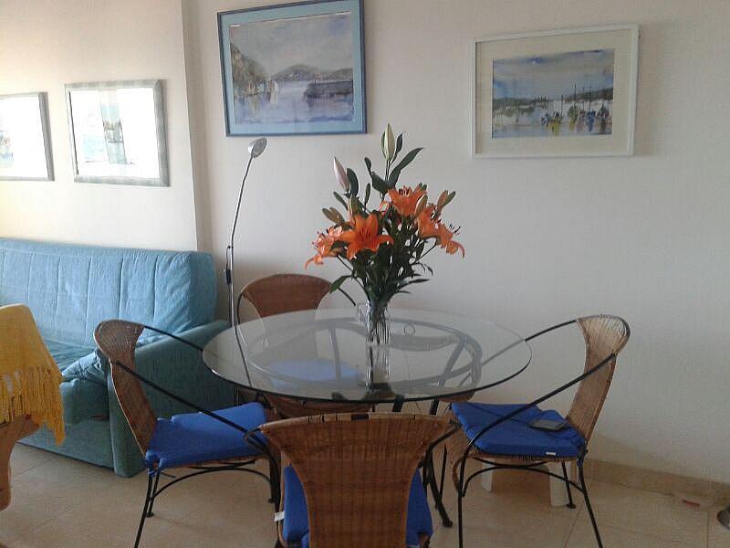Comedor - Apartamento en alquiler en calle Dinamarca, Calpe/Calp - 174606487