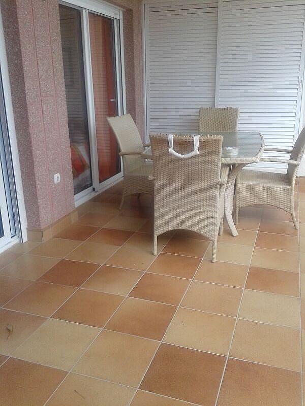 Terraza - Apartamento en alquiler en calle Dinamarca, Calpe/Calp - 174606765