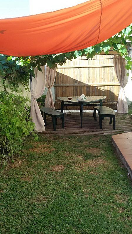 Jardín - Chalet en alquiler en carretera Las Lagunas, La Barrosa en Chiclana de la Frontera - 313749998