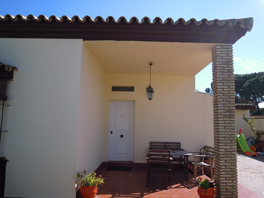 Fachada - Chalet en alquiler en carretera Las Lagunas, La Barrosa en Chiclana de la Frontera - 313750007
