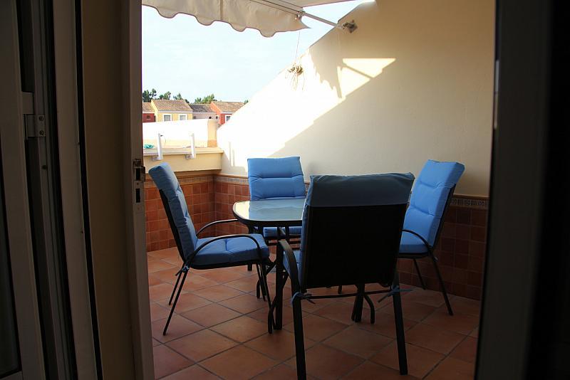Terraza - Apartamento en alquiler en paseo De Las Cumbres, Islantilla - 203754981