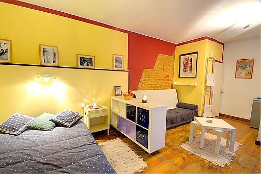 Salón - Loft en alquiler en calle Safareigs, La Barceloneta en Barcelona - 241537738
