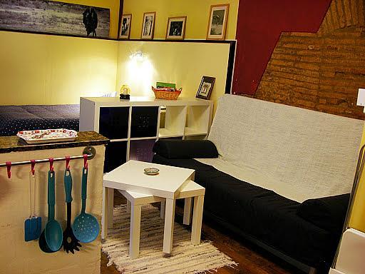 Salón - Loft en alquiler en calle Safareigs, La Barceloneta en Barcelona - 241537842