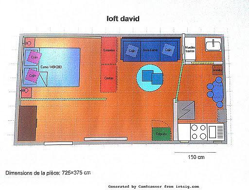 Plano - Loft en alquiler en calle Safareigs, La Barceloneta en Barcelona - 241538057