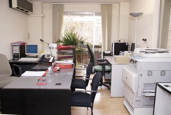 Vestíbulo - Despacho en alquiler en calle Pensamiento, Castillejos en Madrid - 78628358