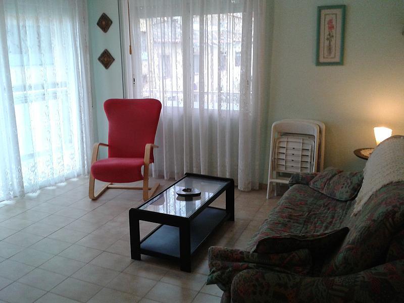 Salón - Apartamento en alquiler en calle Palmera, Sant Antoni de Calonge - 169625563