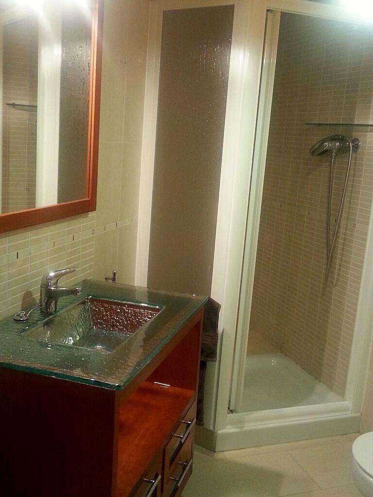 Baño - Apartamento en alquiler en calle Union, Garraf ii en Castelldefels - 259289879