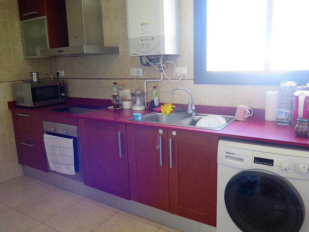Cocina - Dúplex en alquiler en calle Otero Pedrayo, Els canyars en Castelldefels - 325831534