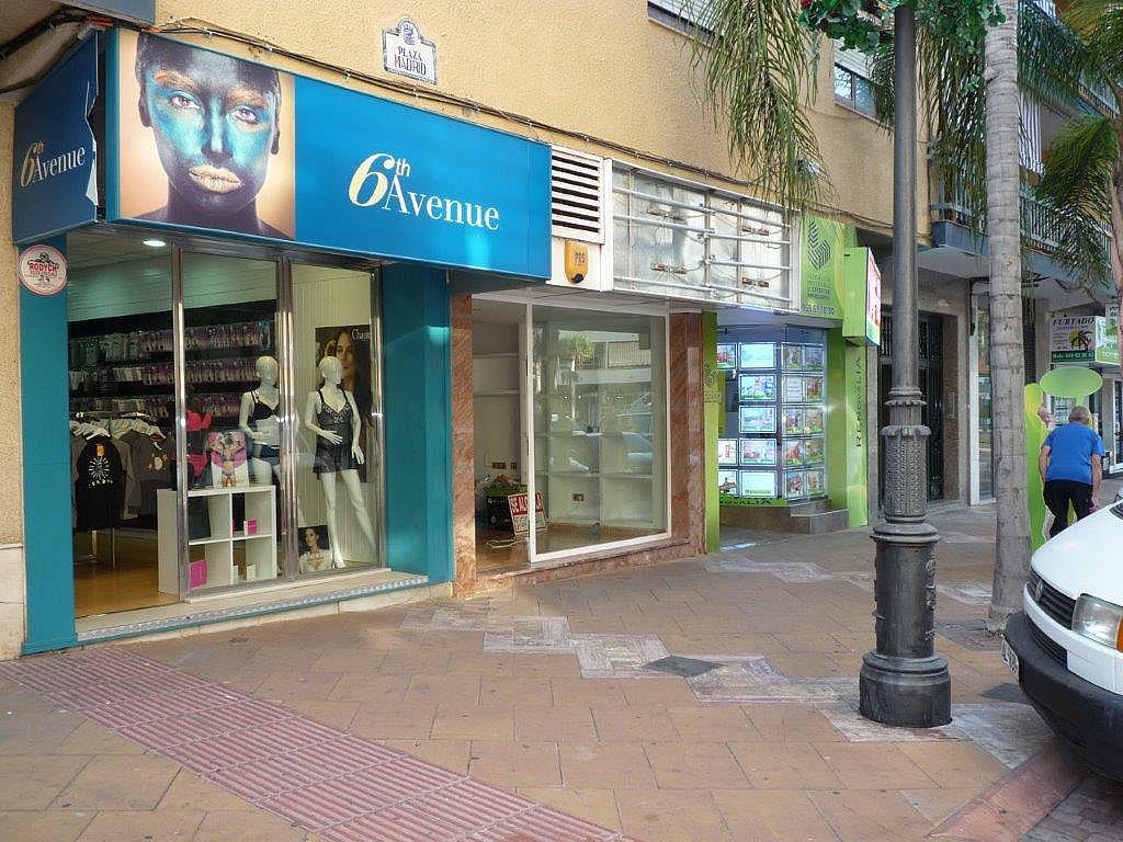 Fachada - Local comercial en alquiler en plaza Madrid, Almuñecar en Almuñécar - 327650843