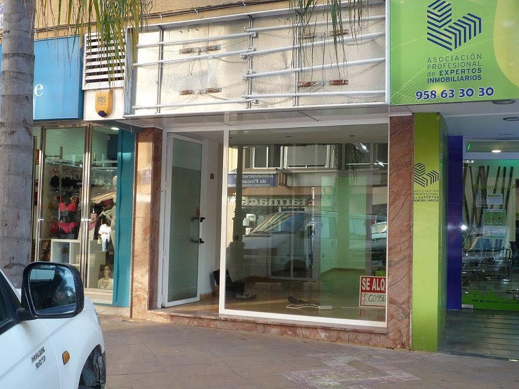 Fachada - Local comercial en alquiler en plaza Madrid, Almuñecar en Almuñécar - 327650846