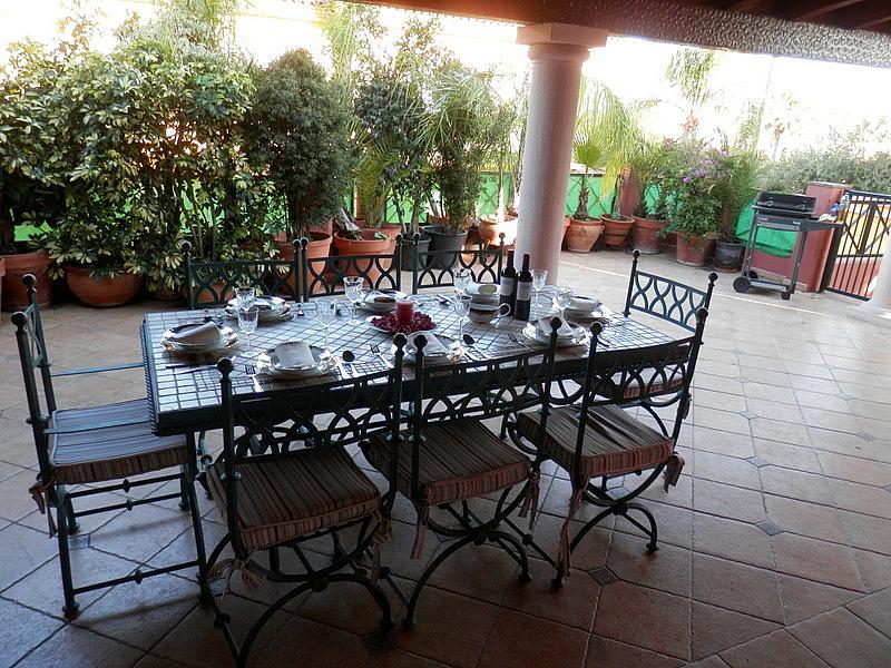 Terraza - Casa en alquiler en calle Dost Esteban San Mateo, San Pedro de Alcántara - 287735378