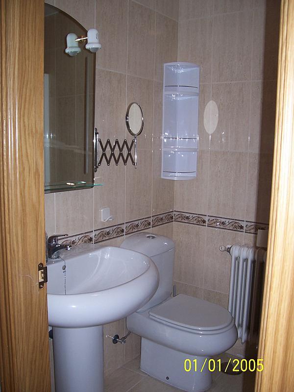 Baño - Apartamento en alquiler en calle Concepcion Arenal, Ciudad Real - 374495733