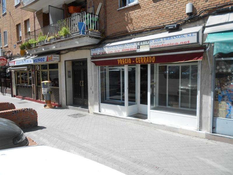 Fachada - Local comercial en alquiler en calle Salado, Usera en Madrid - 116183691