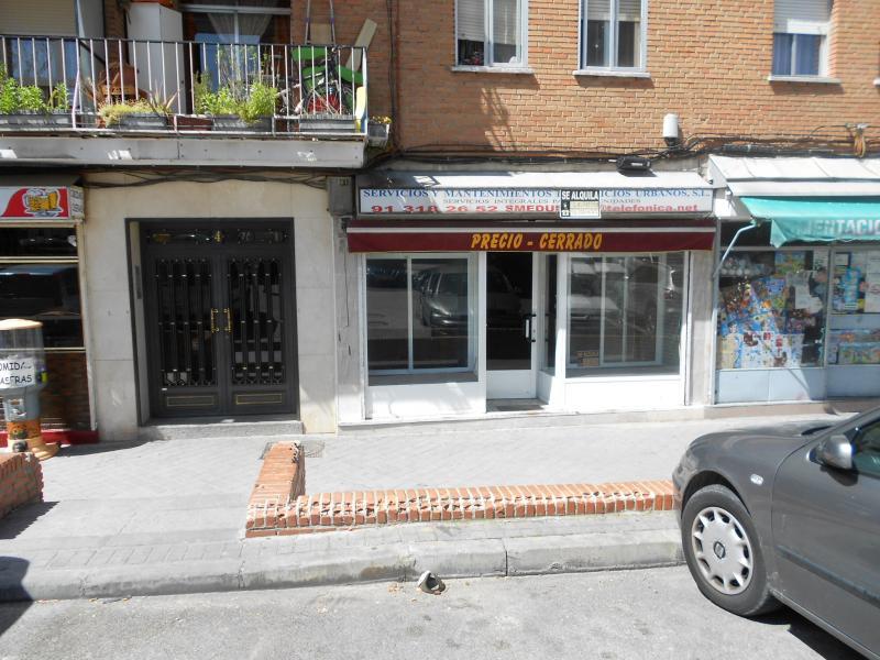 Fachada - Local comercial en alquiler en calle Salado, Usera en Madrid - 116183694