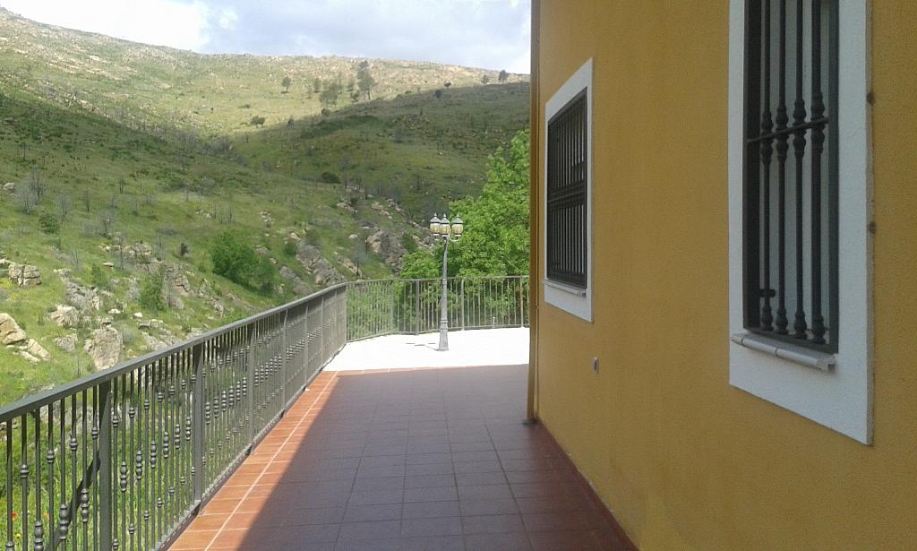 Terraza - Casa rural en alquiler en calle Río, Robledo de Chavela - 300957495