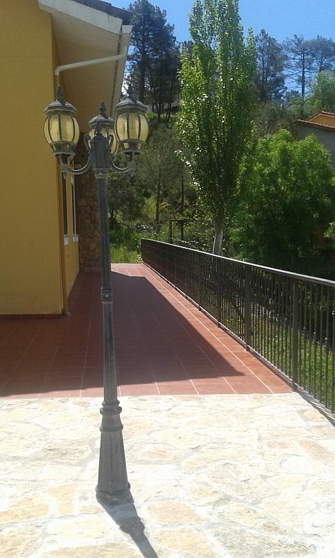 Terraza - Casa rural en alquiler en calle Río, Robledo de Chavela - 300957496