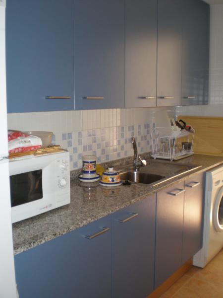 Cocina - Apartamento en alquiler de temporada en calle K, Manga del mar menor, la - 62196168