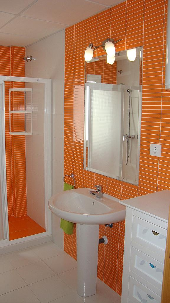 Baño - Ático en alquiler de temporada en calle Gran Canaria, Los Boliches en Fuengirola - 126640039