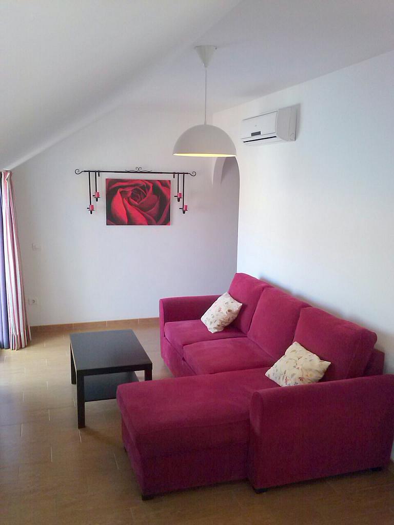 Salón - Ático en alquiler de temporada en calle Gran Canaria, Los Boliches en Fuengirola - 166973796