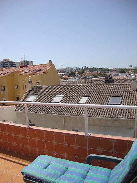 Terraza - Ático en alquiler de temporada en calle Gran Canaria, Los Boliches en Fuengirola - 166974111