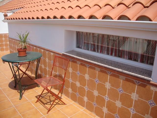 Terraza - Ático en alquiler de temporada en calle Gran Canaria, Los Boliches en Fuengirola - 78435131