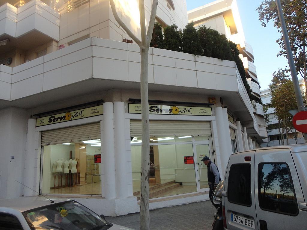 Fachada - Local comercial en alquiler en calle Alcalde Martinez de Ecija, Montigala en Badalona - 308494717