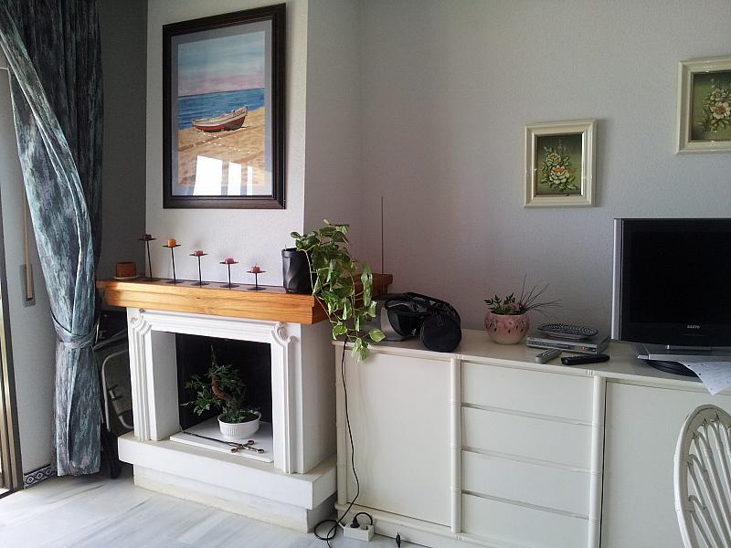 Salón - Apartamento en alquiler en urbanización Carretera de Cadiz, Cala de mijas, la - 139844544