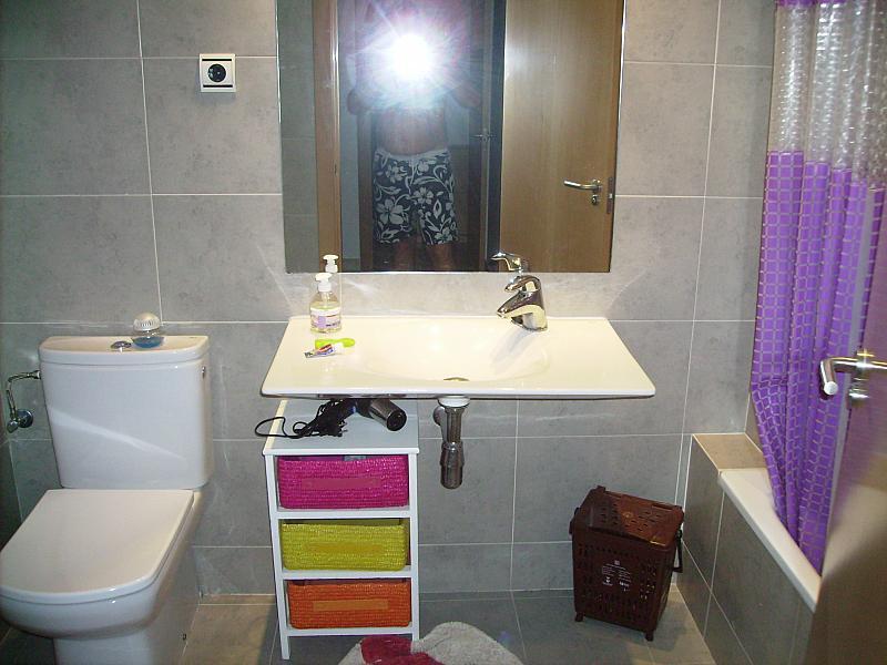 Baño - Apartamento en alquiler en calle Barcelona, Centro en Torredembarra - 285670964