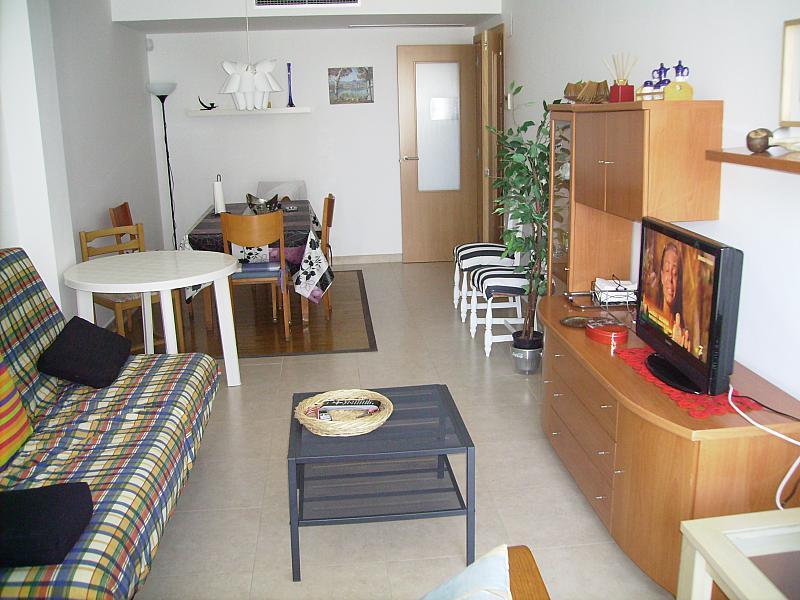 Comedor - Apartamento en alquiler en calle Barcelona, Centro en Torredembarra - 285670973