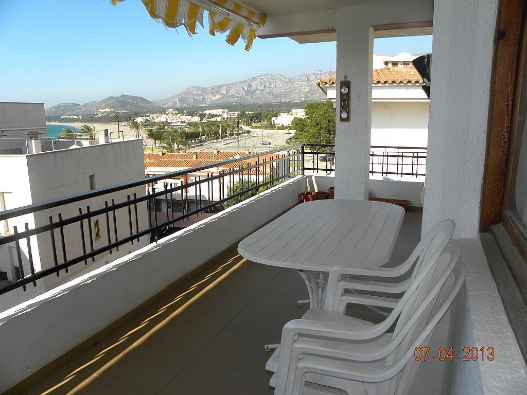Terraza - Apartamento en alquiler en calle Bernat de Fenollar, Hospitalet de l´Infant, L´ - 322084042