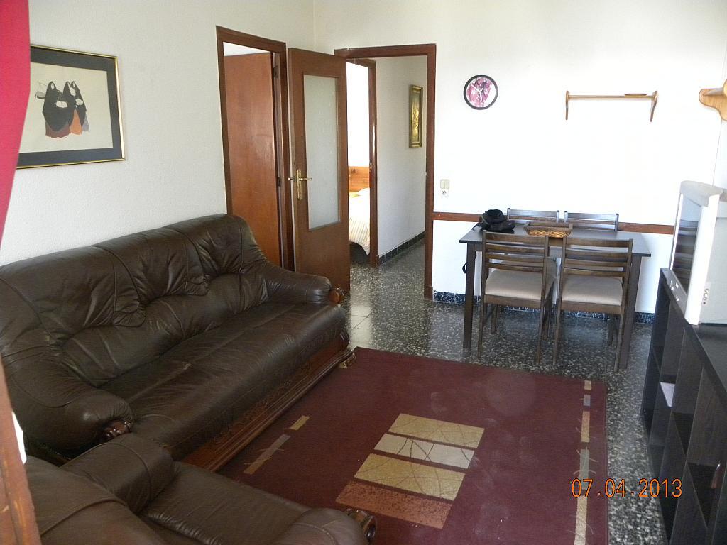Salón - Apartamento en alquiler en calle Bernat de Fenollar, Hospitalet de l´Infant, L´ - 322084312