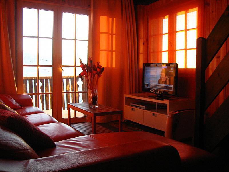 Salón - Ático-dúplex en alquiler en calle Edificio Alayos, Sierra nevada - 231895681
