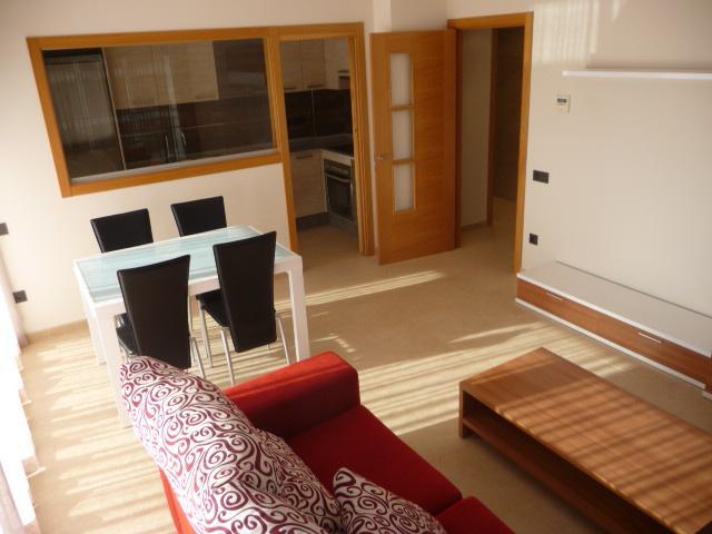 Salón - Piso en alquiler en calle Amadeo Vives, Pineda, La - 105721063