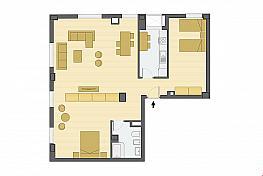 Plano - Loft en venta en calle Torcuato Luca de Tena, Distrito Sur en Sevilla - 301375676